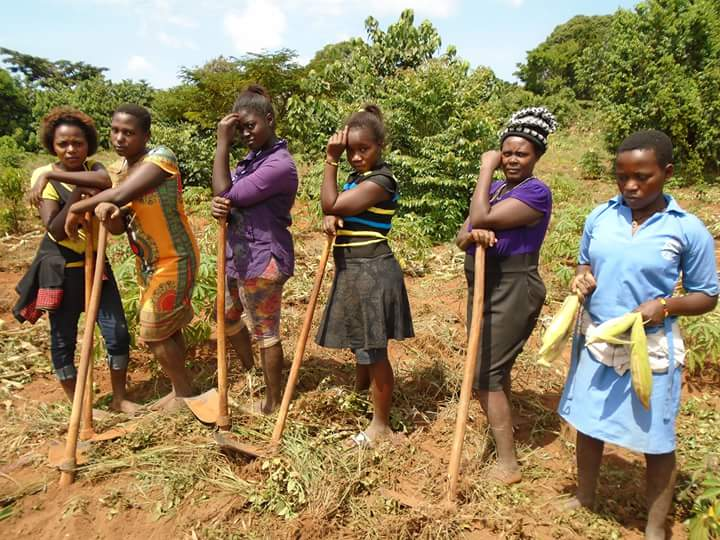 Farming young girls - Resilient Young Girls - Africa