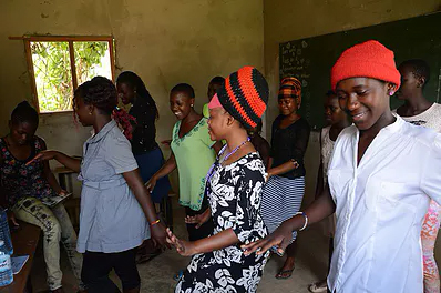 Donate to Support Girls' Education in Uganda, Africa happy